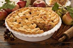 Homemade apple pie royalty free stock photos