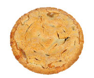 Homemade Apple Pie on White Royalty Free Stock Image