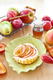 Homemade apple tart Stock Photos