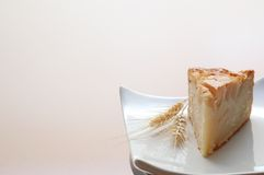 Homemade apple tart - Slice Royalty Free Stock Images