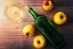 Free Homemade Apple Wine Or Cider Stock Photos - 163088883