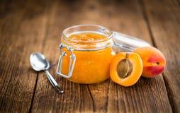 Homemade Apricot Jam Stock Photography