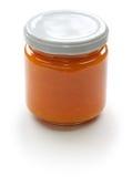 Homemade apricot jam Stock Photos