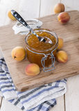 Homemade Apricot Jam Royalty Free Stock Photography