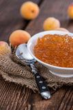 Homemade Apricot Jam Royalty Free Stock Image