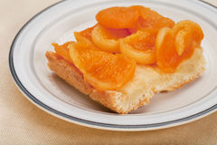 Homemade apricot pie Royalty Free Stock Photography
