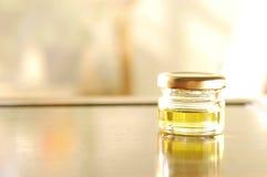 Homemade aromatic oil Stock Photo