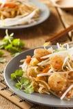 Homemade Asian Pad Thai Royalty Free Stock Photo