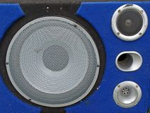Homemade audio system 2 Stock Image
