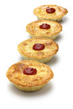 Homemade aussie meat pie Royalty Free Stock Photos