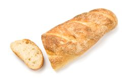 Homemade baguette Royalty Free Stock Photo