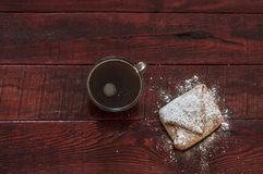 Homemade baked Christmas gingerbread Royalty Free Stock Images