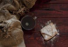Homemade baked Christmas gingerbread Royalty Free Stock Photos