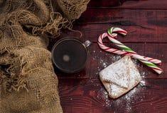 Homemade baked Christmas gingerbread Stock Image