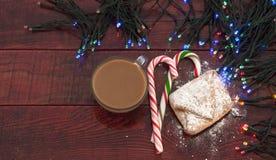 Homemade baked Christmas gingerbread Stock Photography