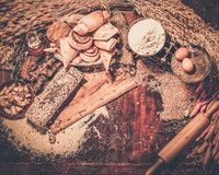 Homemade baked goods Royalty Free Stock Image