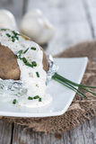Homemade Baked Potatoe Royalty Free Stock Photo