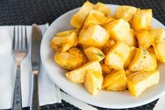 Homemade baked sweet potato Royalty Free Stock Photography