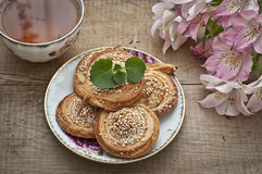 Homemade bakery Royalty Free Stock Images
