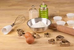 Homemade baking biscuits Stock Photos