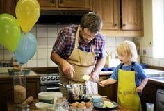 Homemade Baking Holiday Kid Son Concept Royalty Free Stock Photo