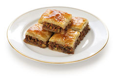 Homemade baklava Royalty Free Stock Photo