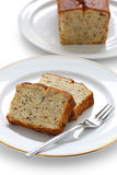 Homemade banana bread Royalty Free Stock Photos