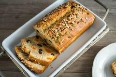 Homemade banana bread Royalty Free Stock Photo