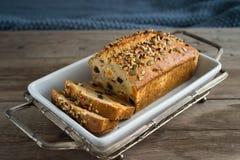 Homemade banana bread Royalty Free Stock Image