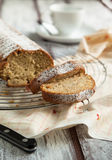 Homemade Banana loaf cake Stock Photos