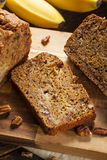 Homemade Banana Nut Bread Royalty Free Stock Photo
