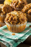 Homemade Banana Nut Muffins Royalty Free Stock Images