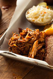 Homemade Barbecue Pulled Pork Stock Images