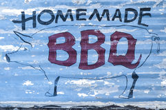 Homemade Barbecue Royalty Free Stock Images