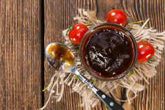 Homemade Barbeque Sauce Royalty Free Stock Image