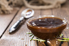Homemade Barbeque Sauce Stock Photo