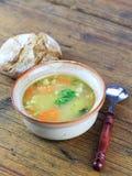 Homemade Barley Soup Stock Photos