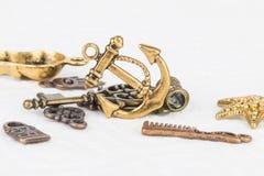 Homemade bead jewelry. Royalty Free Stock Photo