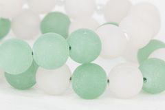 Homemade bead jewelry. Stock Photography
