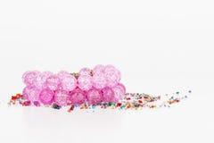 Homemade bead jewelry. Stock Images