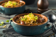 Homemade Beef Chili Con Carne Stock Photography