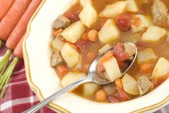 Homemade Beef Stew Royalty Free Stock Images