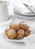 Homemade beignets Stock Photos