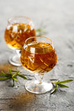 Homemade liquor Royalty Free Stock Photography