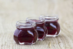 Homemade berry jam Stock Image