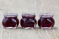 Homemade berry jam Royalty Free Stock Photos