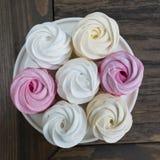 Homemade berry marshmallow Stock Photography