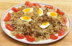 Homemade biryani Stock Photography