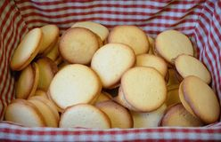 Homemade biscuit cookies Royalty Free Stock Photos