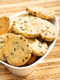 Homemade biscuits with onion Stock Photography